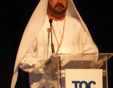 IBC Robotics at the TOC MiddleEast conference in Dubai